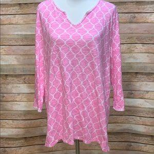 Pink Talbots top